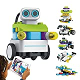 PAI TECHNOLOGY BOTZEES Coding Robots for Kids, Remote Control Robot, STEM Toys, Gift for Boys and Girls Age 4+ (APP Based, iOS, Android and Kindle Fire Compatible)
