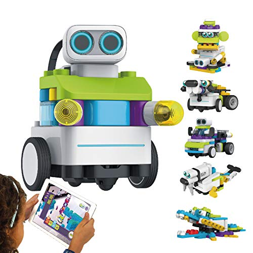 BOTZEES AR Coding Robot for Kids, Educational STEM Toy, Early Programming, Remote Control Robot for Kids Ages 4+ (App Based)