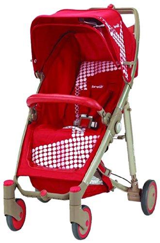 BREVI Kinderwagen Crystal Rosso 233