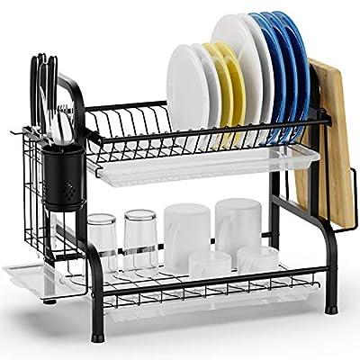 Drying Rack Swedecor Dish Rack Rustless Dish Drainer 25022021122216