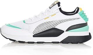 Puma RS-0 Tracks Sneakers Bianco Nero Verde 369362-07 (42.5 - Bianco)