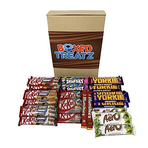 HTUK® - Caja de regalo de chocolate con caja de regalo de 26 unidades, caja de regalo de chocolate perfecta para todas las ocasiones