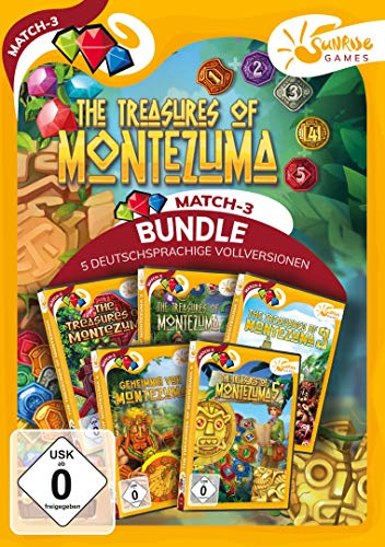 Treasures of Montezuma 1-5