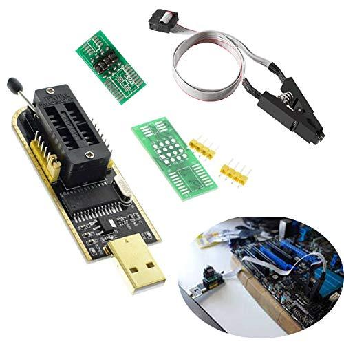 DAOKI USB Programmer CH341A Series Burner Chip 24 EEPROM BIOS Writer 25 SPI Flash + Sop8 Test Clip