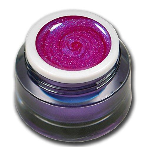 RM Beautynails Premium UV Glit tergel Summer Night Rose 5 ml gel uv Gels professionnel pigments pas absenken la très grande opacité