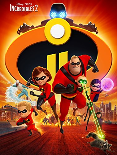 Incredibles 2 Movie Poster Limited Print Photo Craig T. Nelson, Holly Hunter Samuel L. Jackson Size 11x17#1