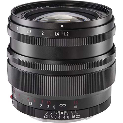 Voigtlander Nokton 50 mm f/1.2 asphärische SE (Stand-Edition) Objektiv für Sony E Mount