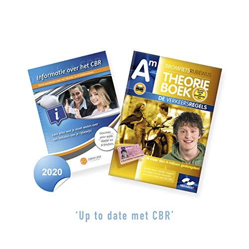 Scooter Theorieboek Nederland 2020 - Bromfiets Theorie Leren - Theorieboek Brommer Rijbewijs AM + CBR Informatie