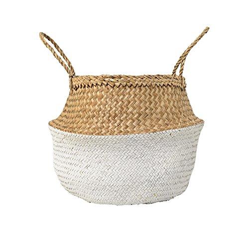 ベトナムい草バスケット (40x40H33)