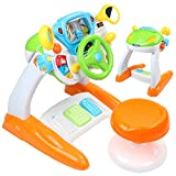 AMOSTING Pretend & Play Ride On Toys for Toddler Boys Girls Learning & Educational Baby Driver Toy...