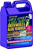 Pro-Kleen Patio Cleaner Simply Spray and Walk Away Green Mould and Algae Killer for Patios, Fencing and Decking 5 Litre Concentrate (Makes 25 litres)