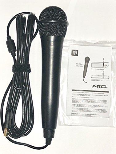 Rock Band USB Karaoke Microphone for PS3, PS4, X-Box One, X-Box 360, PC & Mac -Nintendo Switch