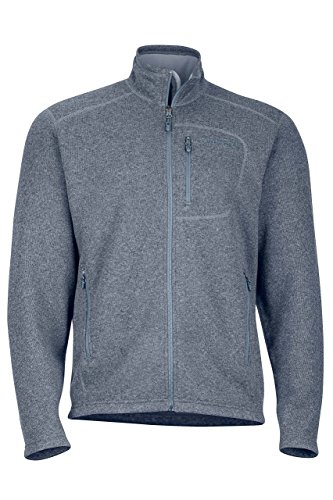 Marmot Drop Line Heren Jack, Lichtgewicht 100 Weight Sweater Fleece