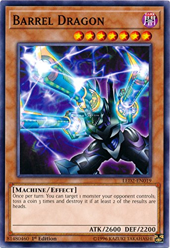 Barrel Dragon - LED2-EN019 - Common - 1st Edition - Legendary Duelists: Ancient Millennium (1st Edition)
