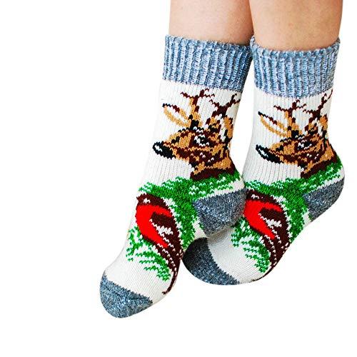 Fielana Kuschel Socken aus Schafwolle