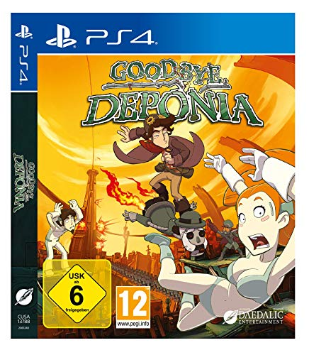 Goodbye Deponia (PS4 Deutsch)