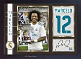 SGH SERVICES Poster Marcelo 12 Real Madrid, gerahmt, mit