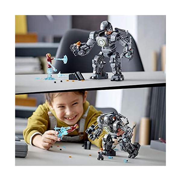 LEGO 76190 Marvel Iron Man: Caos de Iron Monger, Juguete de Construcción con Figuras de Acción de Superhéroes para Niños…