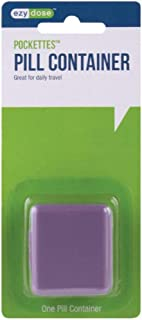 Ezy Dose Indestructo Pill box - 1 Each -  Colors May Vary