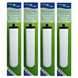4 x Compatible Multi Stage Ceramic Water Filter To Fit Franke Triflow & Doulton M15 Mount - Save £££,S - With This High Quality Filter by FilterLogic