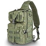 HOPOPOWER Borsa a tracolla tattica, zaino militare Rover Zaino per sport all'aria aperta per caccia, trekking e campeggio