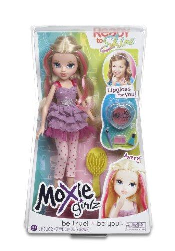 Moxie Girlz – Ready to Shine – Avery – Poupée à Maquiller 20 cm
