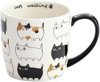 マグカップ 猫3兄弟 猫マグカップ コーヒーカップ 猫柄 マグ 猫 ki-097a (渋滞中)