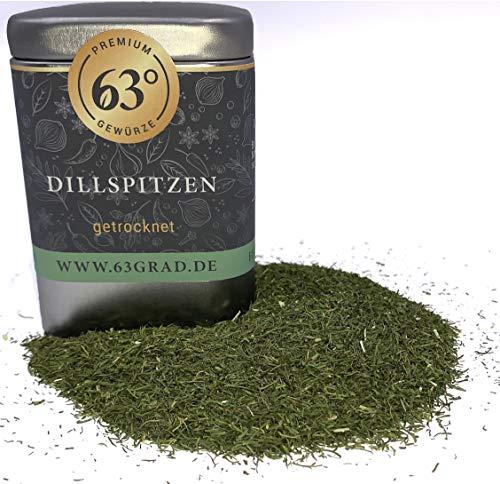 63 Grad - Premium Dillspitzen - Dill, Dill-Spitzen - getrocknet geschnitten (30g)