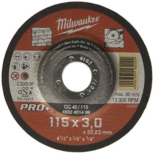 Milwaukee 4002395162024 slijpschijf voor Stein Pro+, meerkleurig