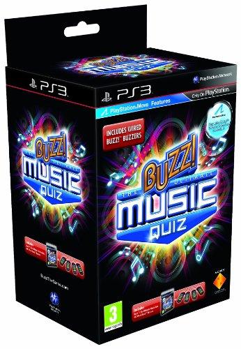Buzz! The Ultimate Music Quiz with Buzzers (PS3) [Edizione: Regno Unito]