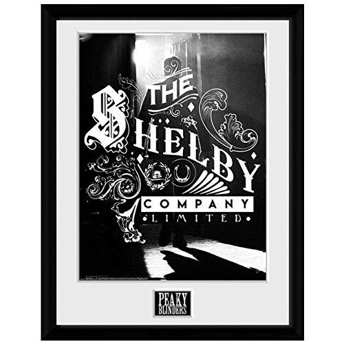 Peaky Blinders - Póster enmarcado Shelby Company