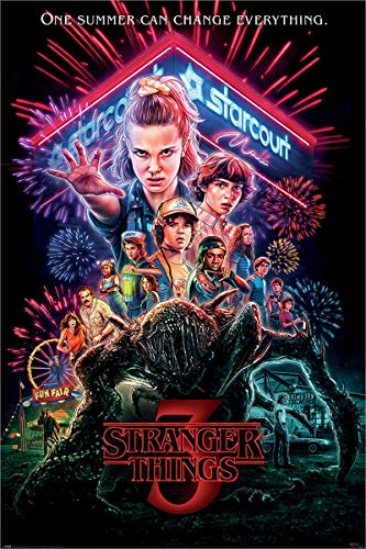 Stranger Things Laminiert Summer of 85 Maxi Poster 61 x 91,5 cm