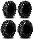 Full set of Interco Swamp Lite 28x9-14 and 28x11-14 ATV Tires (4)