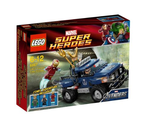 LEGO Super Heroes 6867 - Loki's Cosmic Cube Escape
