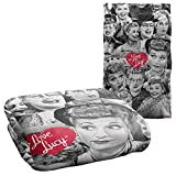 Trevco I Love Lucy Faces Silky Touch Super Soft Throw Blanket 36' x 58'