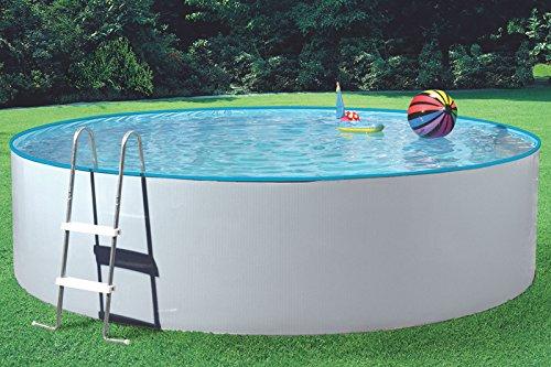 MyPool Rundbecken-Poolset Splash Ø 360 x 110 cm mit Sandfilteranlage