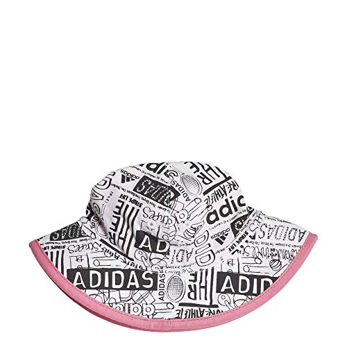 adidas Inf B/G Bucket Hut Unisex Kinder S Mehrfarbig (Blanco/Rossua/Blanco)