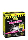 COMPO Cumarax Mäuse-Köder Paste, Anwendungsfertige Portionsbeutel gegen Mäuse, 200 g