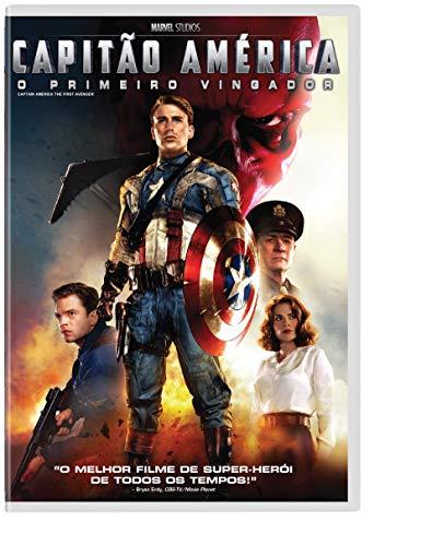 Capitão América O Primeiro Vingador [DVD]