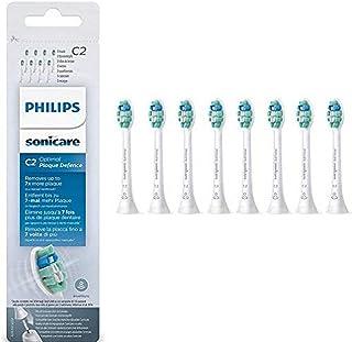Philips Sonicare C2 Optimal Plaque - 8 Stuks - Voor optimale tandplakverwijdering - Selecteer automatisch de optimale poet...