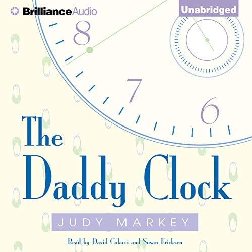 The Daddy Clock audiobook cover art