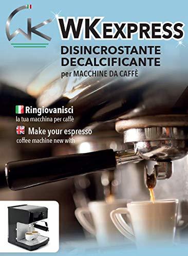 WK wkexpres - Descalcificador higienizante profesional para cafeteras