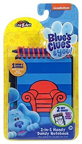 Blues Clues & You! 2-in-1 Handy Dandy Notebook Activity Set, Standard