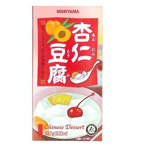 守山乳業 常温 12個 杏仁豆腐 537g
