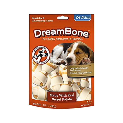 Dreambones Dreambone Sweet Potato Dog Chew (24 Piece/Pack), Mini