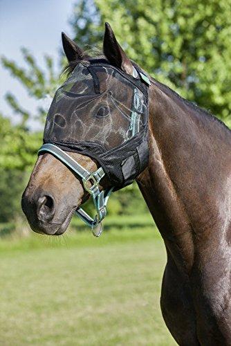 United Sportproducts Germany USG 15550004-100-403 - Maschera anti-mosche senza protezione per le orecchie, colore: Nero