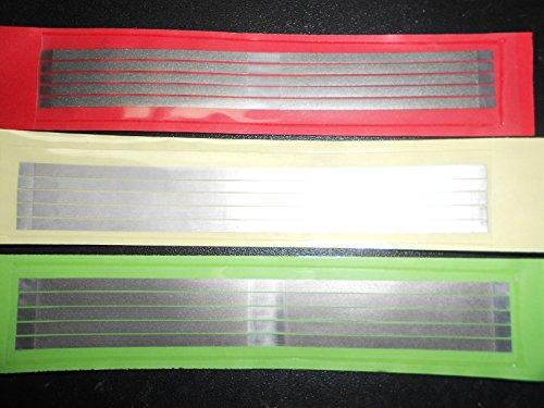 Zubastick Dental Abrasive Stainless Steel Strips Finishing polishing 4mm 15pcs