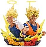 MDCGOK 12 cm Dragon Ball Z Goku Super Saiyan Angel Vegeta Goku PVC Figura de acción Toys Dragon Ball...
