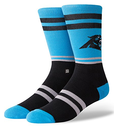 Stance Herren Panthers Logo Socken, Blue, L