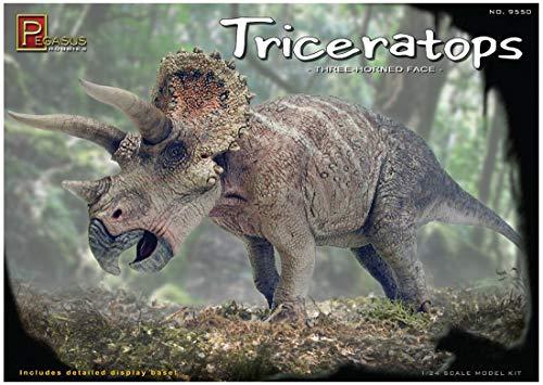 Pegasus pg9550–1/24 Dinosaure Tricératops, Figurines